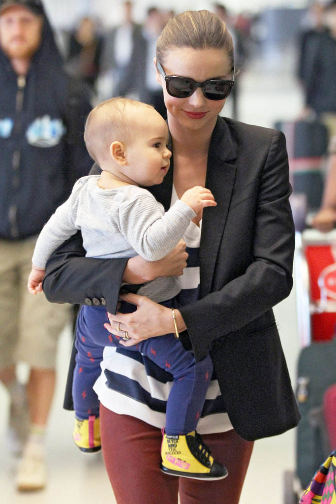 Miranda Kerr and Flynn Bloom spent the 2011 holiday season in Sydney.