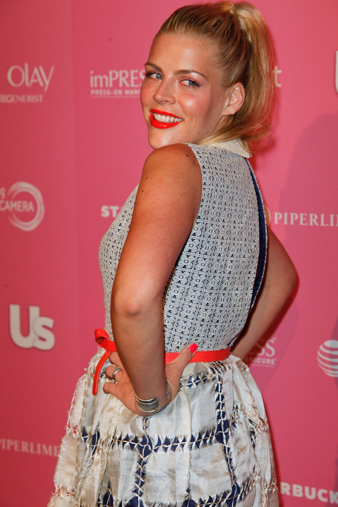 Busy Philipps put her hands on her hips to pose.