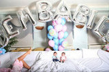 "Proud dad Nick Cannon posted photos of his twins, Moroccan and Monroe Cannon, on Twitter in November 2011 under balloons that read ""Dem Babies."""