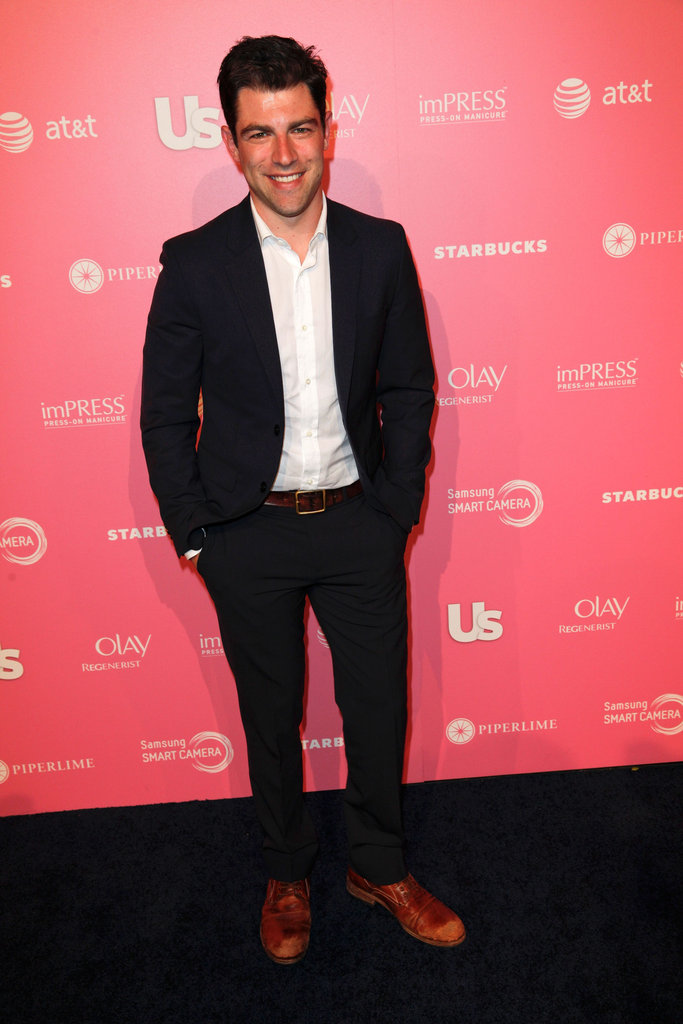 New Girl's Max Greenfield at the Us Hot Hollywood party.