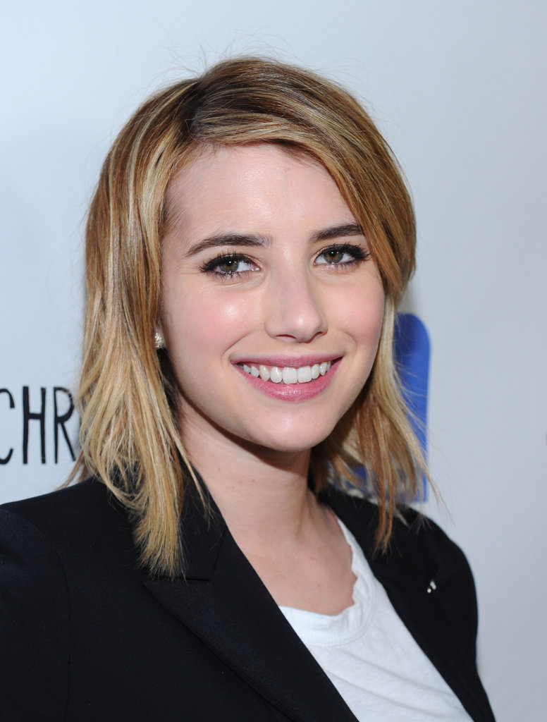 Emma Roberts smiled for the camera at the Jesus Henry Christ premiere.