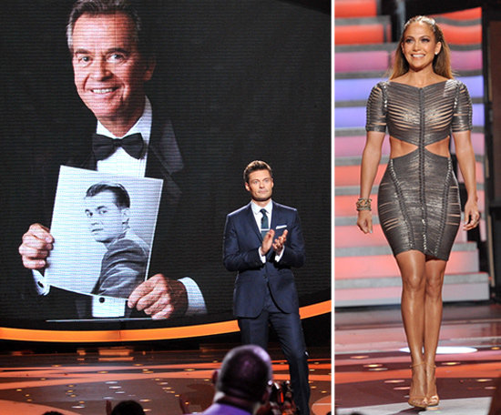 Sexy Jennifer Lopez Cheers Up Ryan Seacrest on an Emotional Idol Night