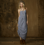 A gingham maxi has all the makings of a pretty country-inspired style that'll look even better styled up in the city with a pair of strappy flat sandals.  Denim & Supply Empire Cotton Camisole Dress ($145)