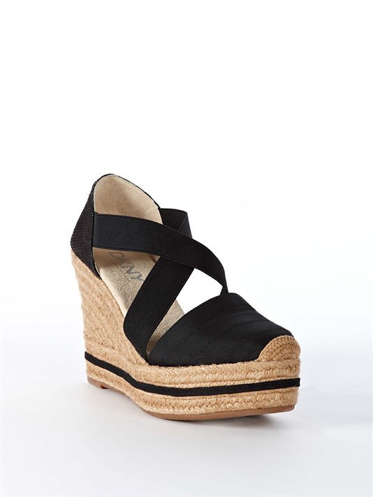 You'll look totally Spring-ready in these closed-toe wedges (and you won't even have to get a pedicure!).  Patricia Criss Cross Espadrille ($115)