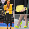 Celebrities Wearing Yellow