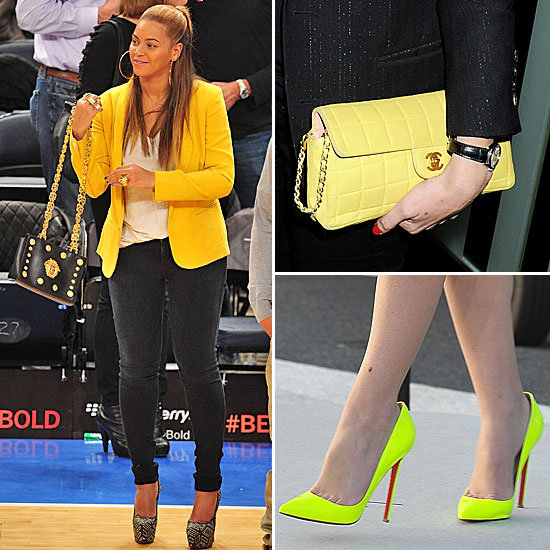 Sunny Side Up! Celebs Heart This Season's Hotest Hue: Yellow