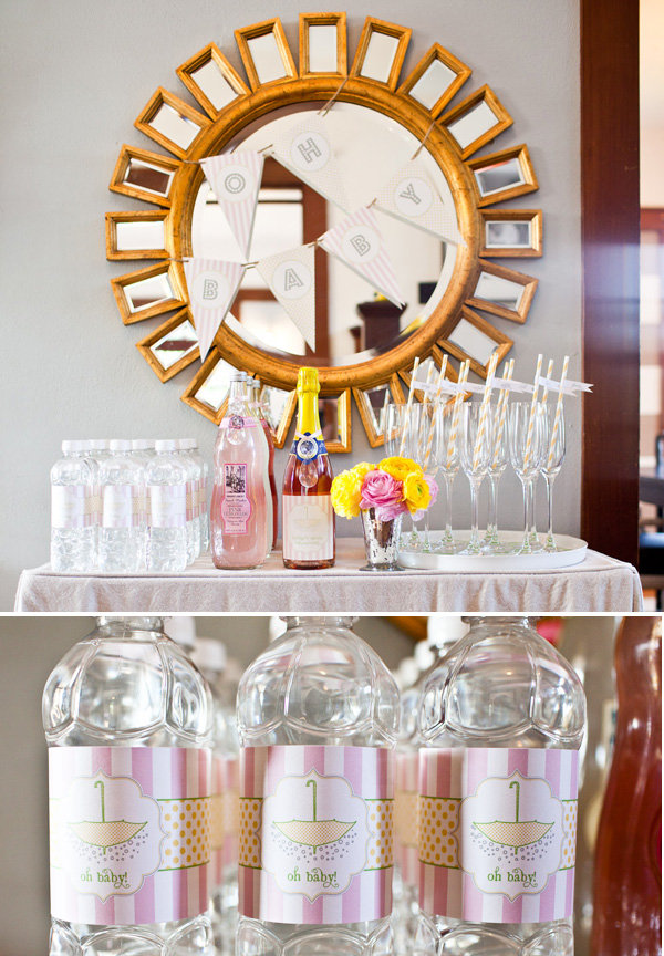 A Baby-Friendly Bubbly Bar