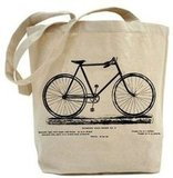 Recycled Canvas Bicycle Tote