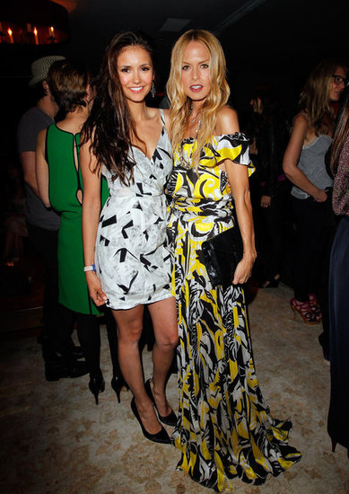Nina Dobrev and Rachel Zoe