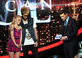 Jennifer Lopez and the American Idol Judges Say Goodbye to Colton Dixon
