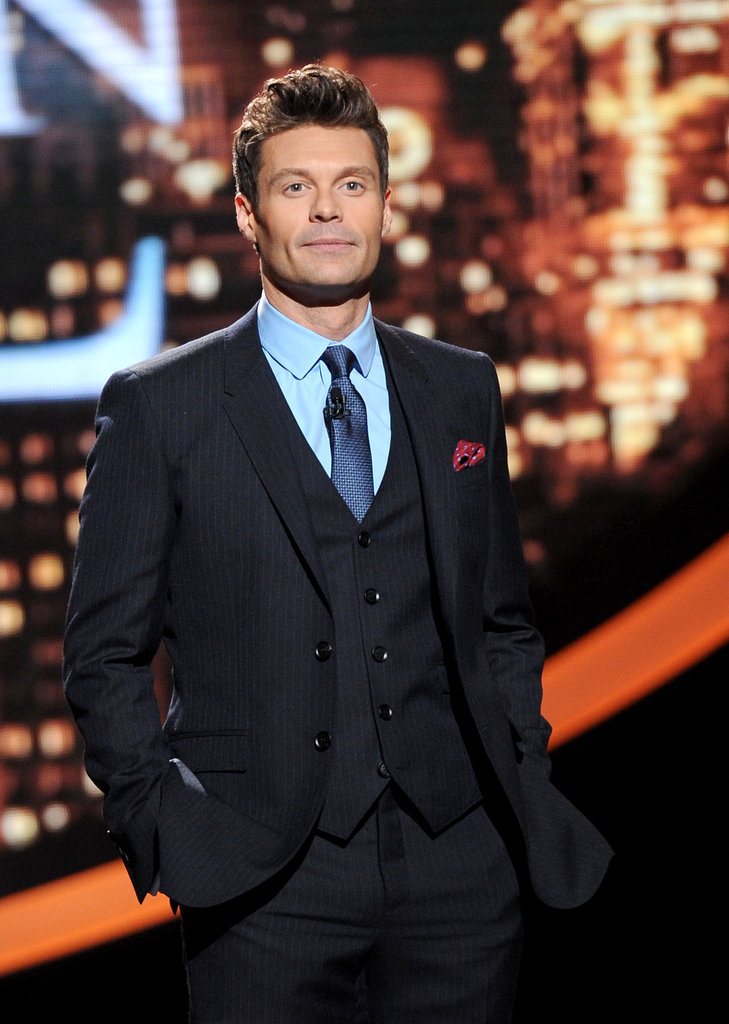 Ryan Seacrest kept the show moving.