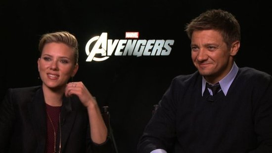 Scarlett Johansson and Jeremy Renner Talk About The Avengers' Humor and Prepping to Be Black Widow and Hawkeye