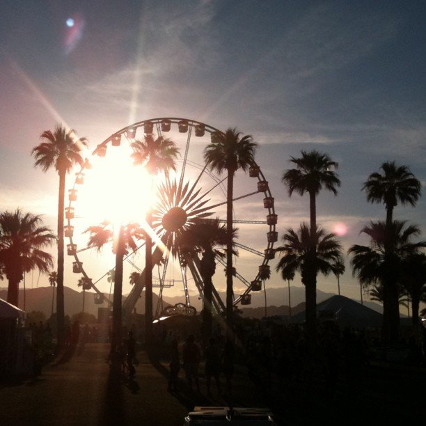 A last look at the festival grounds — till next year, Coachella!
