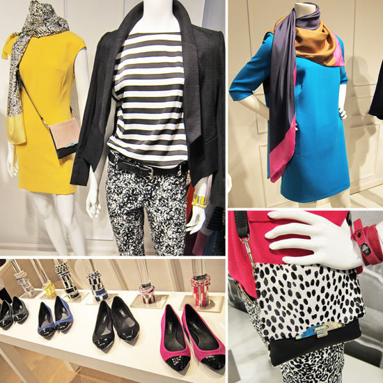 First look! See over 80 photos of Ann Taylor's cool French-girl-inspired Fall 2012 preview.