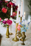 Antique Golden Candlesticks
