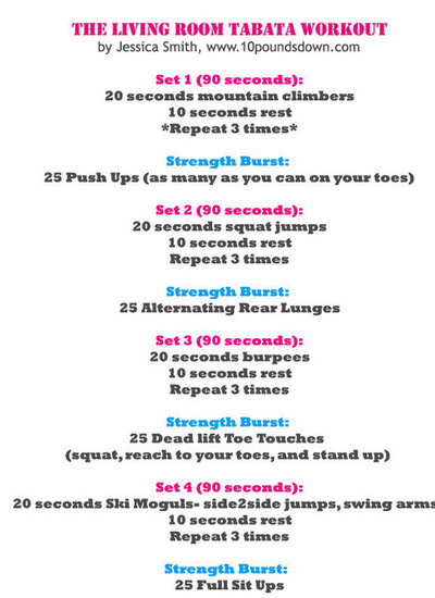 Good at home workout plans