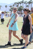 Busy Philipps enjoyed letting loose at Coachella's second weekend with friends.