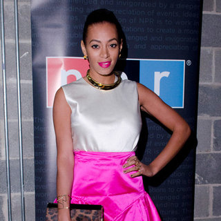 Solange Knowles at White House Correspondents Dinner