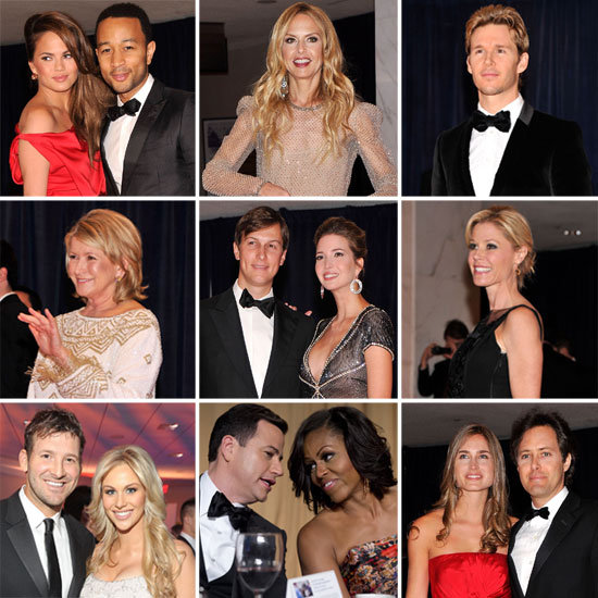 Celebrities at White House Correspondents' Dinner 2012 | POPSUGAR ...