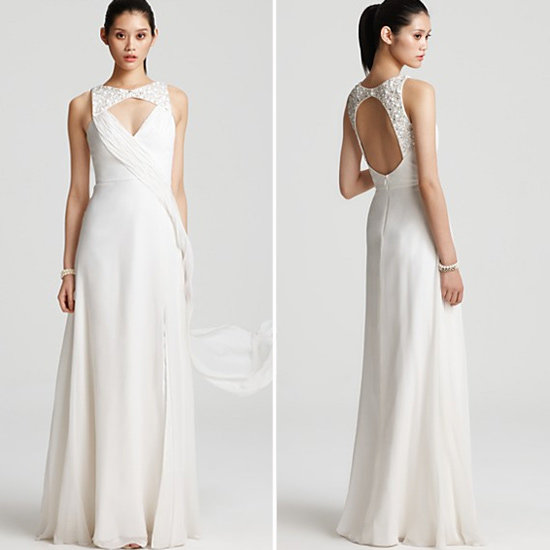 Hoaglund New York Beaded Open-Back Gown ($460)