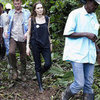 Angelina Jolie Pictures in Equador Working With the UN