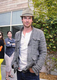 Ian Somerhalder attended the Earth Day celebration at the Annenberg Beach House in Santa Monica.