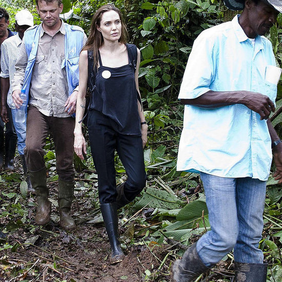 Angelina Jolie explored Ecuador.