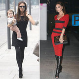 Victoria and Harper Beckham Make a Fashionable Impression on China