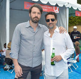 Ben Affleck and Grant Heslov posed together for a photo at the Children Mending Hearts event.