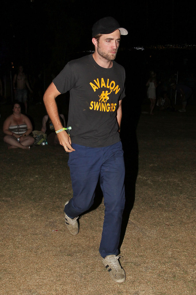Robert Pattinson hung out with Kristen Stewart during Coachella's second weekend.