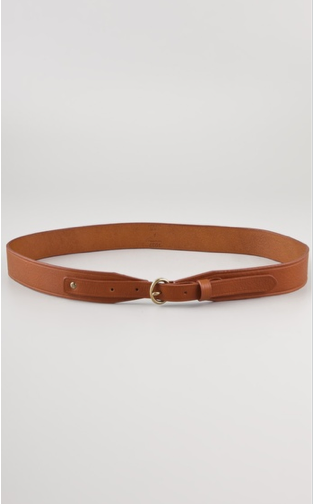 Cinch your linen dresses and denim-on-denim looks with this simple tab belt. Madewell Papa Tab Waist Belt ($52)