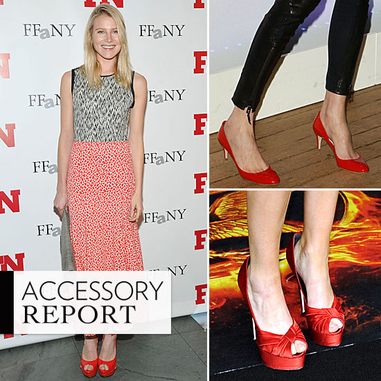 Celebrities' Latest Statement-Making Footwear Has Us Seeing Red
