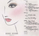 Bobbi Brown Cheat Sheet