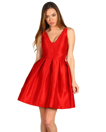 Z Spoke Zac Posen Taffeta V Dress ($525)