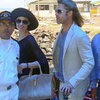 Jolie-Pitt Pictures on Vacation in Galapagos Islands