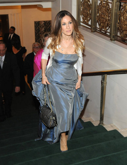 Sarah Jessica Parker arrived at the Waldorf-Astoria.