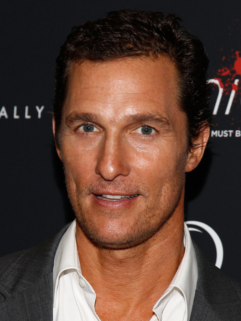 Matthew McConaughey attended the New York premiere of Bernie.