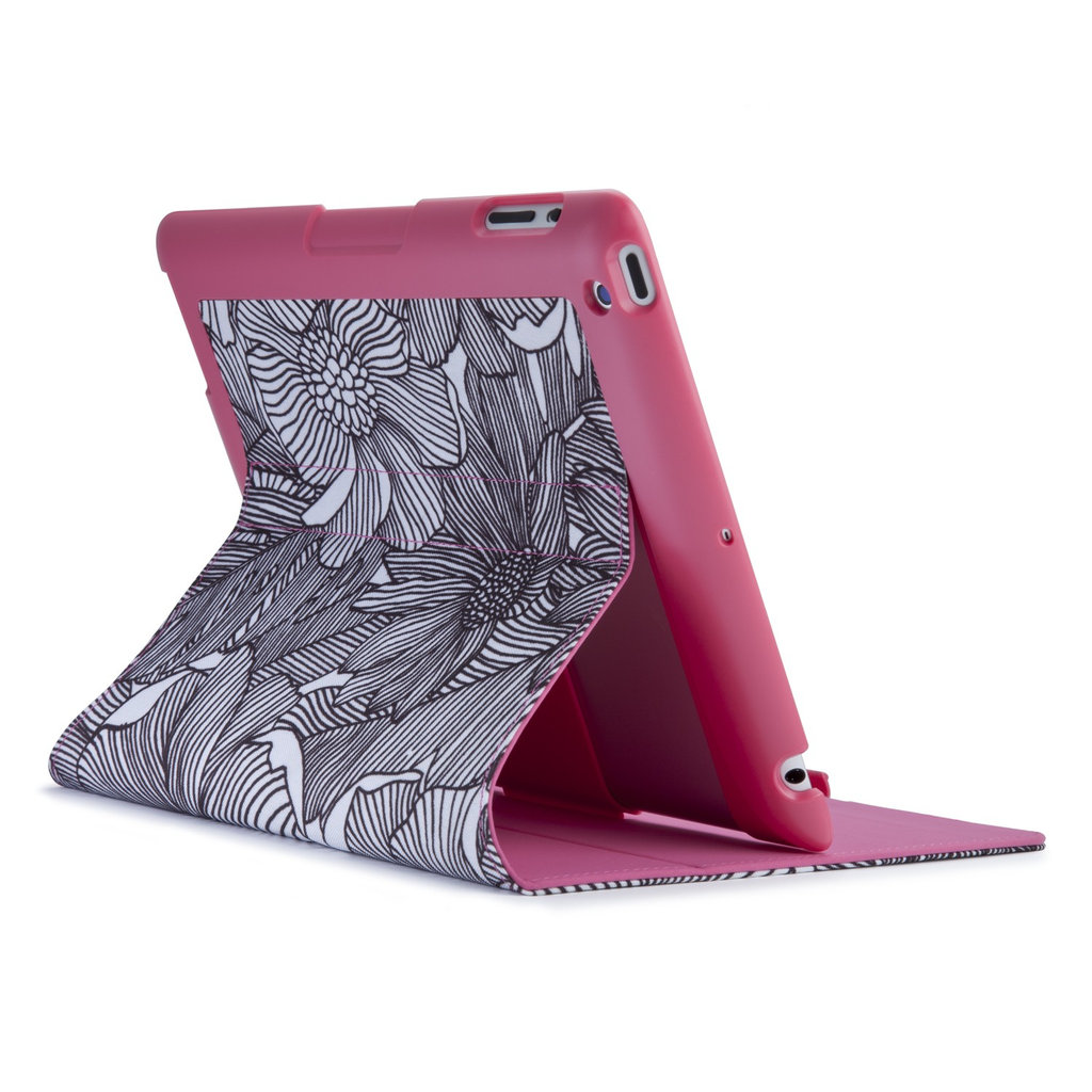FitFolio for iPad in FreshBloom Pink/Black ($40)