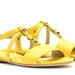 Bold yellow and a slick studded detail — what's not to love here?