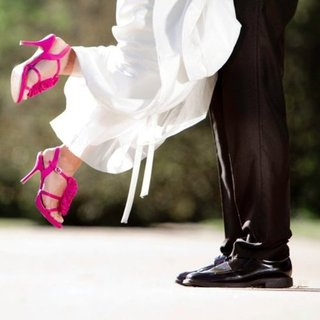 Tips For Wearing Heels on Wedding Day