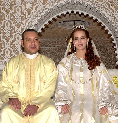 King Mohammed VI of Morocco and Lalla Salma Bennani