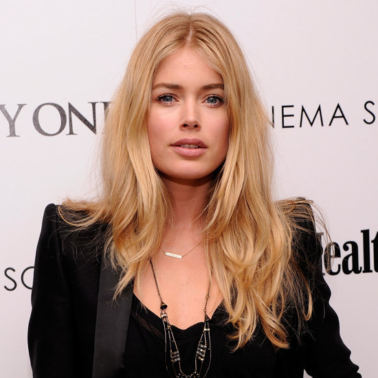 doutzen kroes elegant hair 2012