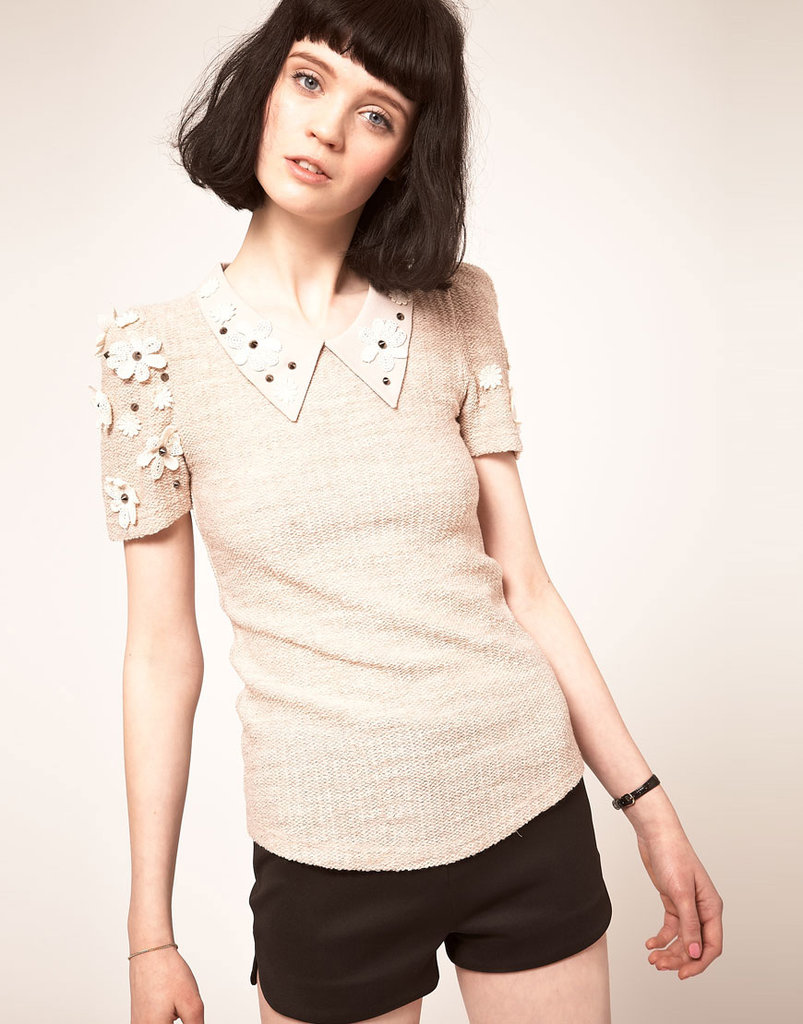 Sister Jane Studded Flower Top ($95)