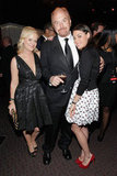 Amy Poehler got close with Louis CK and Aubrey Plaza at the Time 100 party in NYC.