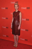 Claire Danes stepped onto the red carpet for the Time 100 gala in NYC.