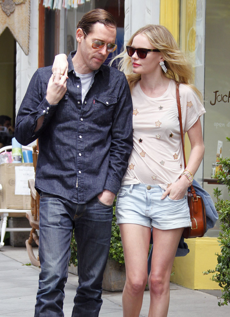 Kate Bosworth and Michael Polish in LA.