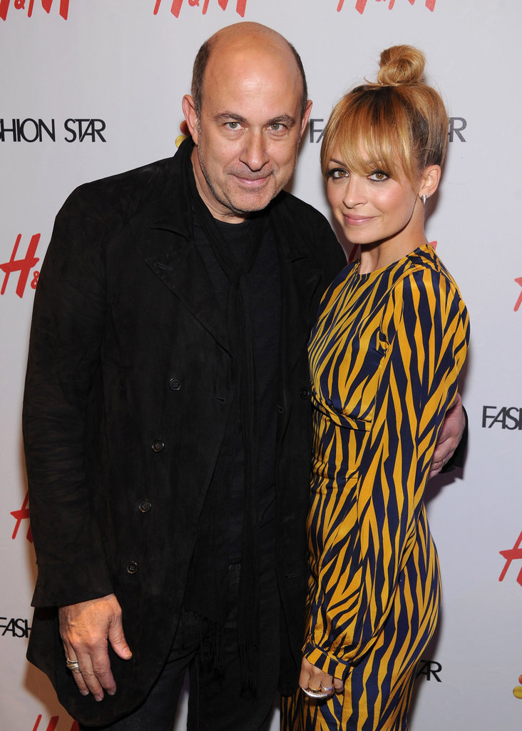 Nicole Richie and John Varvatos posed together at H&M.