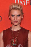 Claire Danes attended the Time 100 gala in NYC.