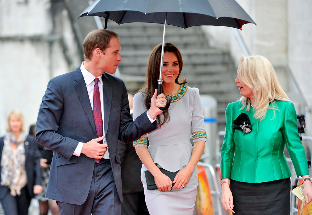 Prince William and Kate Step Out For First Appearance Since His Return From Duty!
