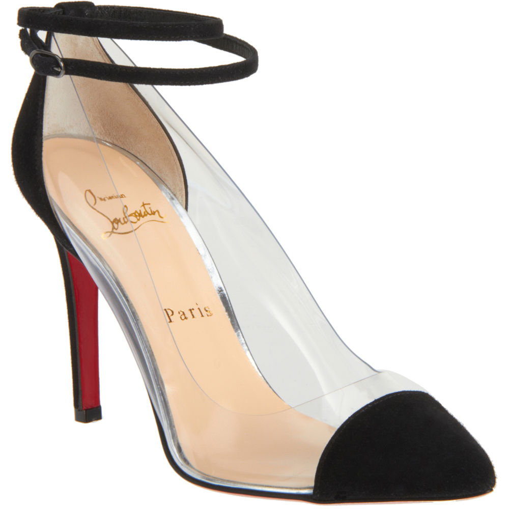 Everyone from Beyoncé to Kim Kardashian is loving this shoe, and it's pretty clear as to why.  Christian Louboutin Un Bout Pump ($795)